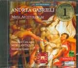 CD image GABRIELLI / MISSA APOSTOLORUM / CERA - MORE ANTIQUO - CONTI