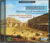 PAISIELLO / <br>OVERTURES AND SYMPHONIES / <br>MAZZOLA