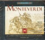 CD image MONTEVERDI / IL COMBATTIMENTO DI TANCREDI ET CLORINDA - MADRIGALI [ROBERTO GINI]