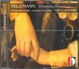 TELEMANN / <br>COMPLETE TRIO SONATAS FOR RECORDER AND OBOE / <br>BERNANDINI - CAVASANTI