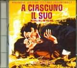 CD image A CIASCUNO IL SUO - UNA QUESTIONE D ONORE - LUIS BACALOV - (OST)