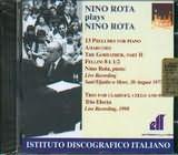 CD image NINO ROTA PLAYS NINO ROTA / 13 PRELUDES - AMARCORD