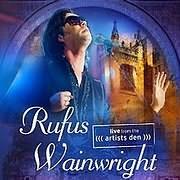 DVD image RUFUS WAINWRIGHT - LIVE FROM ARTIST DEN - (DVD)
