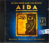CD image AIDA [ELTON JOHN AND TIM RICE S] - (OST)