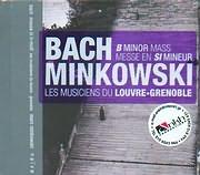 CD image BACH J S / MASS IN B MINOR - LE MUSICIENS DU LOUVRE - GRENOBLE - MARC MINKOWSKI (2CD)