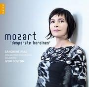 CD image MOZART / DESPERATE HEROINES (SANDRINE PIAU)