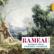 CD image RAMEAU / CANTATAS - HARPSICHORD WORKS (MATHIAS VIDAL)
