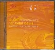 ELGAR / SYMPHONY N 1 - SIR COLIN DAVIS - LSO LIVE