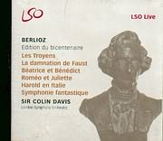 CD image BERLIOZ / EDITION DU BICENTENAIRE / SIR COLIN DAVIS - LSO 12CD