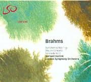 CD image BRAHMS / SYMPHONY 1 - 4 - DOUBLE CONCERTO - SERENADE N 2 - BERNARD HAITIND - L S O - (4CD)