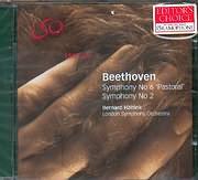 CD image BEETHOVEN / SYMPHONY N 6 [PASTORAL] AND N 2 - BERNARD HAITING - L.S.O