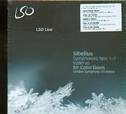 SIBELIUS / SYMPHONIES N 1 - 7 - KULLERVO - SIR COLIN DAVIS - LSO (4CD)