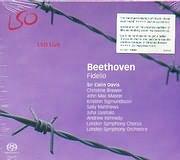SACD image LSO LIVE / BEETHOVEN / FIDELIO [SIR COLIN DAVIS LONDON SYMPHONY ORCHESTRA AND CHORUS (2 SACD)