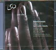 SACD image BEETHOVEN / MASS IN C - SIR COLIN DAVIS - L.S.O (SACD)