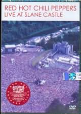 DVD image RED HOT CHILI PEPPERS / LIVE AT SLANE CASTLE - (DVD)