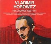 CD image VLADIMIR HOROWITZ / RECORDINGS 1930 - 1951 (3CD)