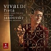 CD image VIVALDI - PIETA / SACRED WORKS FOR ALTO (PHILIPPE JAROUSSKY) (2CD)