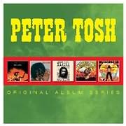 CD image PETER TOSH / ORIGINAL ALBUM SERIES (5CD)