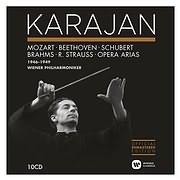 CD image KARAJAN / THE VIENNA PHILHARMONIC RECORDINGS (10CD)