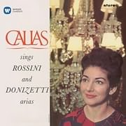 CD image MARIA CALLAS / SINGS ROSSINI AND DONIZETTI ARIAS