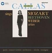 CD image MARIA CALLAS / SINGS MOZART, BEETHOVEN, WEBER ARIAS