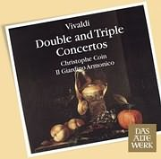 CD image VIVALDI / DOUBLE AND TRIPLE CONCERTOS (GIOVANNI ANTONINI AND CHR. COIN)