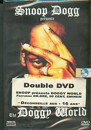 DVD image SNOOP DOGG / THE DOGGY WORLD (2 DVD) FEATURING DR. DRE - 50 CENT - EMINEM - (DVD)