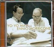 CD image YO YO MA PLAYS ENNIO MORRICONE - THE MISSION - SERGIO LEONE SUITE - THE LADY CALIPH - BRIAN DE PALMA