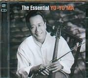 CD image YO YO MA / THE ESSENTIAL (BACH - VIVALDI - SAINT SAENS - MASSENET - KREISLER - RACHMANINOFF - BRAHMS - DVORAK) (2CD)