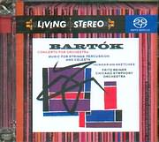 SACD image BARTOK / CONCERTO FOR ORCHESTRA - MUSIC FOR STRINGS PERCUSSION AND CELESTA - HUNGARIAN SKETCHES - SACD