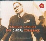 CD image ENRICO CARUSO / THE DIGITAL COMEBACK - OPERA ARIAS - CANZONI ITALIANE (3CD)