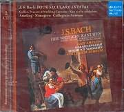 CD image BACH J S / FOUR SECULAR CANTATAS - REINHARD PETERS - COLLEGIUM AUREUM (2CD)