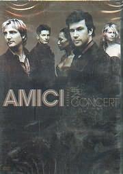 DVD image AMICI FOREVER IN CONCERT - APPLEBY - VALENTINE SOPRANOS / SEWELL - HABBIN TENORS / GARRETT BASS BARI - (DVD VIDEO)