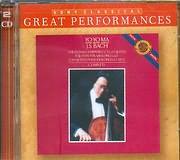 CD image BACH J.S. / THE 6 UNACCOMPANIED CELLO SUITES - YO YO MA CELLO (2CD)