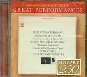 CD image SZELL CONDUCTS MOZART / SYMPHONY N 28 - 33 - 35 - EINE KLEIN NACHTMUSIC - OVERTURE FIGGARO - THE CLEVELAND ORC