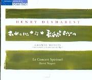 CD image DESMAREST / GRAND MOTETS VOL.II / LE CONCERT SPIRITUEL