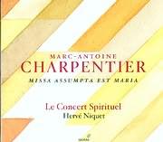 CD image CHARPENTIER / MISSA ASSUMPTA EST MARIA H.11 / LE CONCERT SPIRITUEL