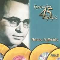 CD image PANOS GAVALAS NO.2 / TRAGOUDIA APO TIS 45 STROFES