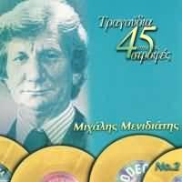 CD image MIHALIS MENIDIATIS NO.2 / TRAGOUDIA APO TIS 45 STROFES