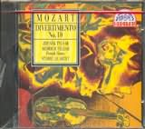 CD image MOZART / DIVERTIMENTO N 10FOR 2 VIOLINS VIOLA CELLO AND FRENCH HORNS