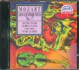 CD image MOZART / DIVERTIMENTO N 17 2 VIOLINS VIOLA CELLO AND 2 FRENCH HORNS