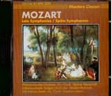 CD image MOZART / LATE SYMPHONIES N 38 AND 39