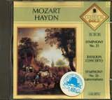 CD image MOZART / SYMPHONY NO.25 - BASSON CONCERTO B MAJOR / HAYDN / SYMPHONY NO.26