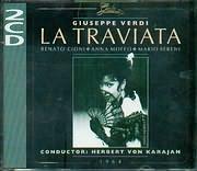 CD image VERDI / LA TRAVIATA / KARAJAN - CIONI - MOFFO (1964) (2CD)