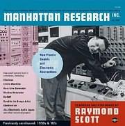LP image RAYMOND SCOTT / MANHATTAN RESEARCH INC (3LP) (VINYL)