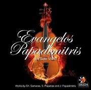 CD image for EYAGGELOS PAPADIMITRIS / FOR SOLO VIOLIN