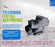 CD image TELEMANN / FLAVIUS BERTARIDUS (ALESSANDRO DE MARCHI) (3CD)