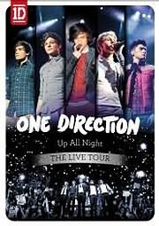 DVD image ONE DIRECTION - UP ALL NIGHT THE LIVE TOUR - (DVD)