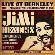 CD Image for THE JIMI HENDRIX EXPERIENCE / LIVE AT BERKELEY (2LP) (VINYL)