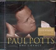 CD image PAUL POTTS ONE CHANCE - BRITAIN S GOT TALENT YOUR WINNER